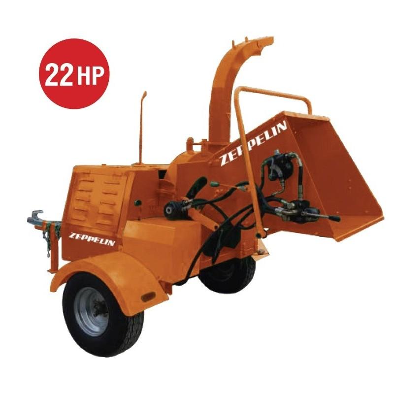 Biotrituradora Diesel 22HP ZEPPELIN