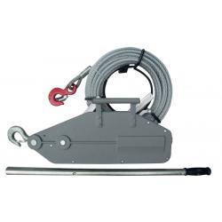 Cabestrante de cable pasante UNICRAFT-USZ 800