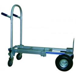 Carro Aluminio Plegable - Ruedas Macizas