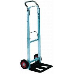 Carro-Plataforma Aluminio Plegable - Ruedas Macizas