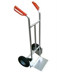 Carro Aluminio Pala Fija 280 - Ruedas Neumaticas
