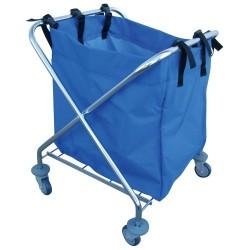 Cubo de Basura con pedal 70 lts - Galvanizado