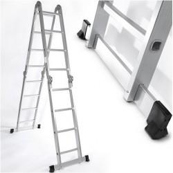 Escalera Multifuncion 4,6 M - Aluminio