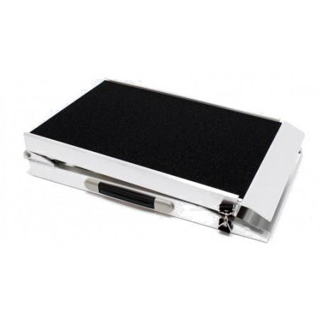 Rampa Plegable Aluminio - 213.5x38x5cm
