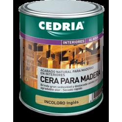 INTERIORES CEDRIA CERA PARA MADERA 4L