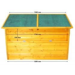 Mueble de jardín 128 x 77 x 69 cm