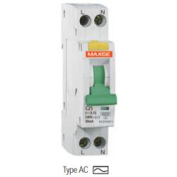 Interruptor Diferencial SGNL, 6A, 30mA Clase AC