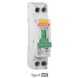 Interruptor Diferencial SGNL, 16A, 30mA Clase A