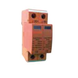 Limitador de sobretensiones hasta 1000 V en DC. Aplicaciones fotovoltaica Tipo 2. 2P Clase C 40kA, 20kA, 3,2kV