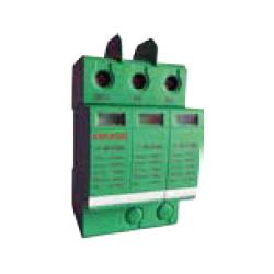 Limitador de sobretensiones hasta 1000 V en DC. Aplicaciones fotovoltaica Tipo 2. 3P Clase C 40kA, 20kA, 3,2kV