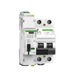 Protección combinada IGA+sobretensión permanente con reconexión automática 4 Polos