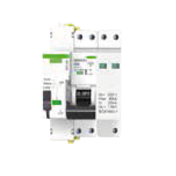 Protección combinada DPN+sobretensión permanente con reconexión automática 2 Polos