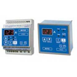 Relés Diferenciales con indicación de fuga Display LED. 4 módulos Carril DIN