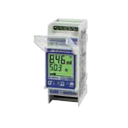 Relés Diferenciales Clase B modular con display LCD. 2 módulos DIN (36mm) 230VAC