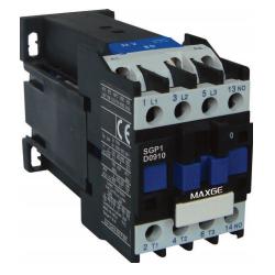Contactor tripolar 3P 3NO mando en DC rango 9~95A 24V AC 20A