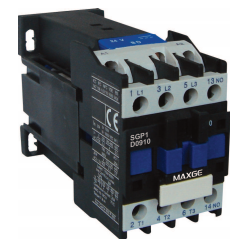Contactor tripolar 3P 3NO mando en DC rango 9~95A 48V DC 32A