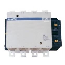 Contactor tetrapolar 4P, 4NO mando en DC rango 200~1500A 24V DC
