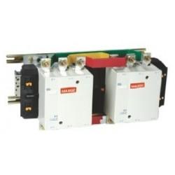 Contactor inversor 3P 3NO con mando en AC rango 200~1000A, 230V AC