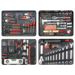 Kit Servicio Asistencia Técnica 134 piezas METALWOKS - BTK134A
