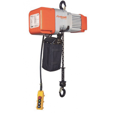 Polipasto Electrico de Cadena UNICRAFT- EKZT 10-2