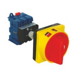 Seccionador Emergencia - Montaje fondo armario - 3 Polos - 25A - 5.5 kW