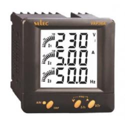 Analizador básico LCD con barra gráfica analógica