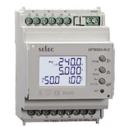 Analizador LCD con medida de THD y comunicación RS485