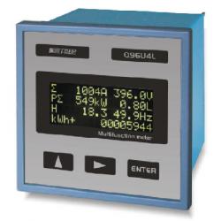 Analizador de alta precisión LCD con medida de THD y comunicación RS485 - 100~400V AC