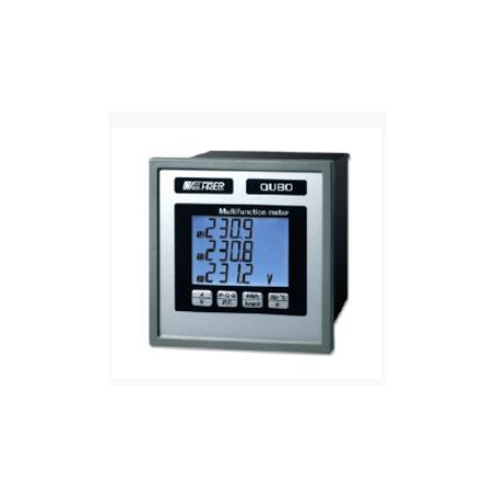 Analizador miniaturizado LCD para redes monofásicas en corriente continua - 80~260V AC/DC - 24V DC