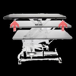 Mesa Auxiliar Plegable - 92,5x50x85 cm