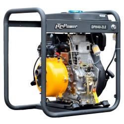 Motobomba Diesel Doble Turbina Alta Presion DPH40LE-2 ITCPOWER