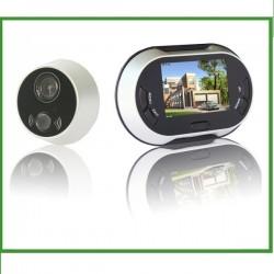"""Mirilla Digital 3,5"""" con Grabacion de imagenes - PANTALLA COLOR"""