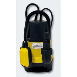 Bomba de Achique Sumergible 400Watt - 7500 L-h -35mm