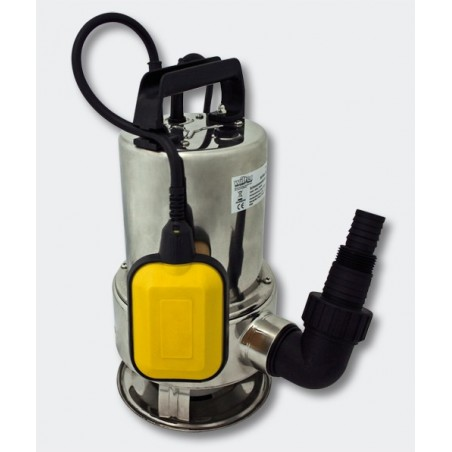 Bomba de Achique Sumergible 550Watt - 10500 L-h - Acero INOXIDABLE