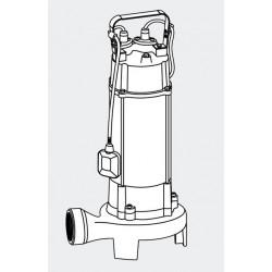 Bomba de Achique con TRITURADOR ORGANICO 1800 Watt - 26400 L-h