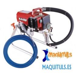 Maquina para pintar Airless MQT NA450 - Plastico, Barniz....