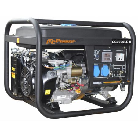 GENERADOR GASOLINA ITCPOWER AUTOMATICO Con Mando GG9000LE-R