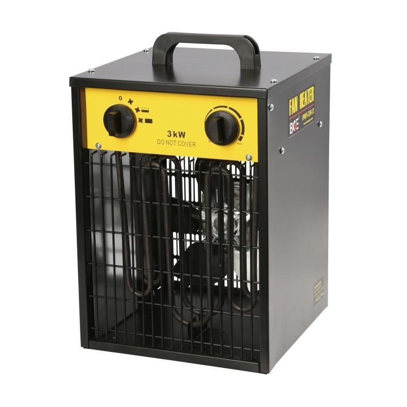 Calefactor Eléctrico Ventilación 3 kW - 230 V