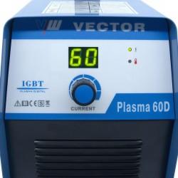 CORTADOR PLASMA IGBT Inverter HF VECTOR 60D - 20 MM 400V