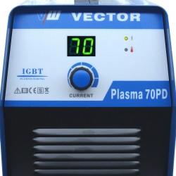 CORTADOR PLASMA IGBT INVERTER HF VECTOR 70PD - 24 MM 400V