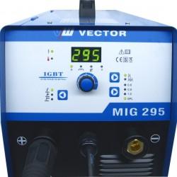 SOLDADOR VECTOR MIG295 S MIG MAG + TIG + ELECTRODO