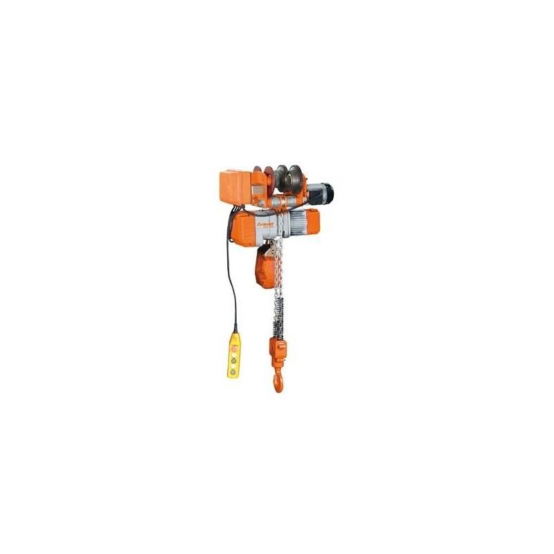 Polipasto eléctrico de cadena con carro motorizado UNICRAFT- EKZF 500
