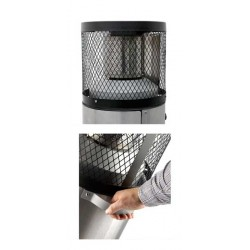 Estufa de Terraza a gas Cosy Polo 2 - Acero Inoxidable