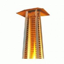 Estufa Piramide de Terraza a gas 223cm - 8KW - Ideal Bar y Restaurante