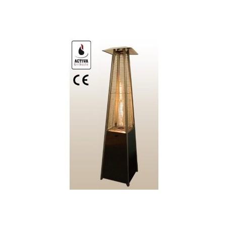 Estufa tipo Piramide de Terraza a gas 223cm -10,5KW - Diseño ALEMANIA