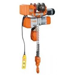 Polipasto eléctrico de cadena con carro motorizado UNICRAFT- EKZF 2000