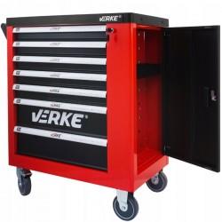 Detalle cajón lateral Carro Portaherramientas VERKE - 250 Piezas