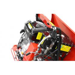 Vista lateral detalle motor Mini Dumper HECHT 2950 - 500 kg
