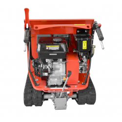 Vista trasera detalle motor Mini Dumper HECHT 2950 - 500 kg