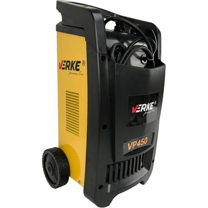 Cargador Arrancador Bateria VERKE 12/24V - VP450